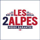 le binôme à la française station de ski les 2 alpes