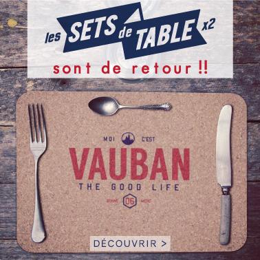 le binôme à la française quartiers marseille les sets de table